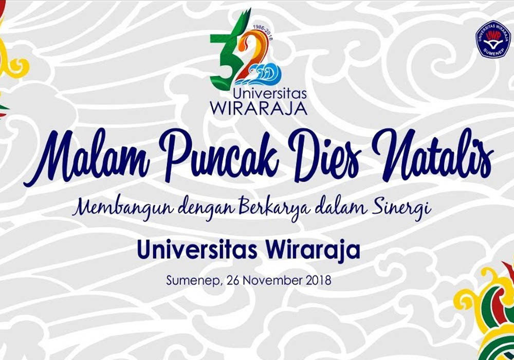 MOLANG ARE UNIVERSITAS WIRARAJA KE-32